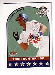 2002 Fleer Tradition Update #U314 Torii Hunter AS