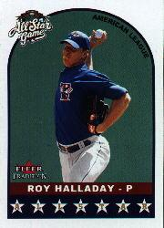 2002 Fleer Tradition Update #U321 Roy Halladay AS front image