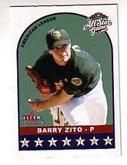 2002 Fleer Tradition Update #U326 Barry Zito AS