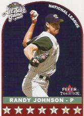 2002 Fleer Tradition Update #U350 Randy Johnson AS