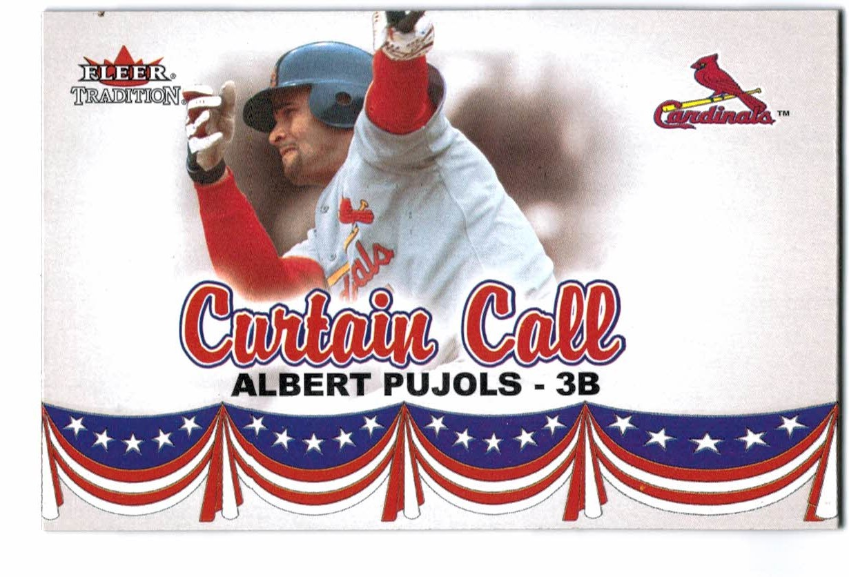 2002 Fleer Tradition Update #U368 Albert Pujols CC front image