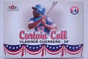 2002 Fleer Tradition Update #U373 Vladimir Guerrero CC