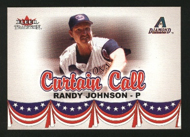 2002 Fleer Tradition Update #U374 Randy Johnson CC