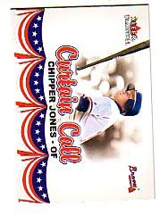 2002 Fleer Tradition Update #U383 Chipper Jones CC