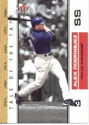 2002 Fleer Tradition Update #U389 Alex Rodriguez TT