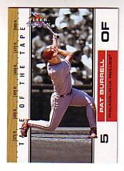 2002 Fleer Tradition Update #U393 Pat Burrell TT