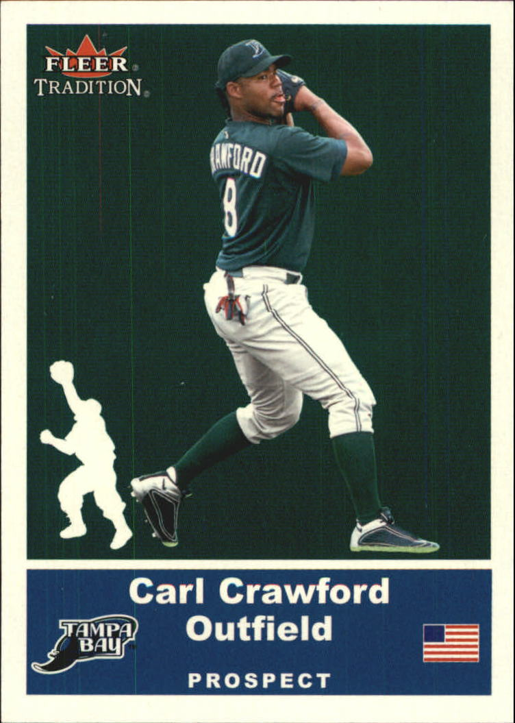 2002 Fleer Tradition Update Glossy #U96 Carl Crawford