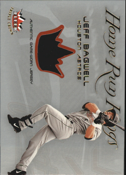 2002 Fleer Triple Crown Home Run Kings Game Used #1 Jeff Bagwell Jsy