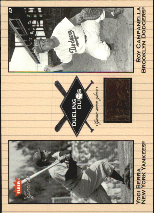 2002 Greats of the Game Dueling Duos Game Used Single #RC1 Nellie Fox/Rocky Colavito Bat