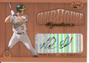 2002 Leaf Clubhouse Signatures Bronze #19 Mark Ellis/300