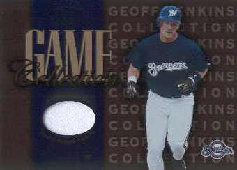 2002 Leaf Game Collection #GJP Geoff Jenkins Pants
