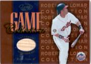 2002 Leaf Game Collection #RAB Roberto Alomar Bat
