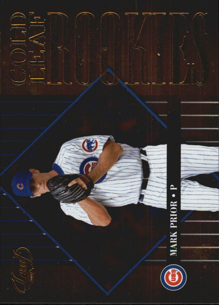 2002 Leaf Gold Rookies #6 Mark Prior
