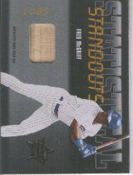 2002 Leaf Rookies and Stars Statistical Standouts Materials #9 Fred McGriff Bat