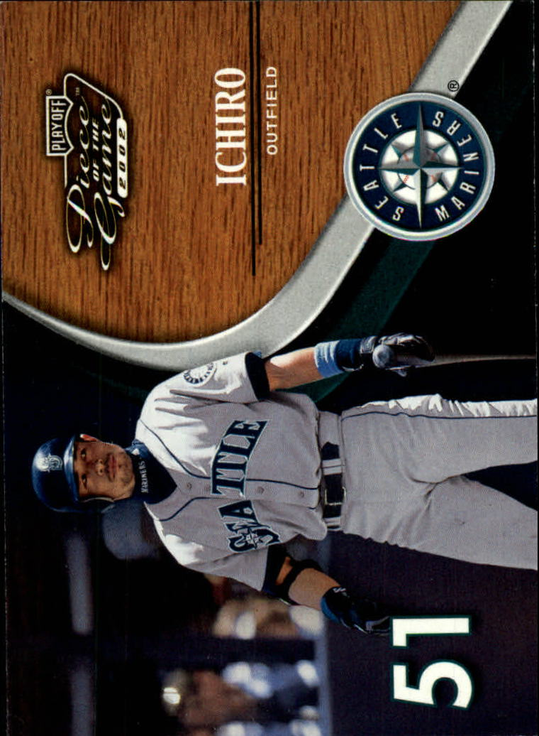 2002 Playoff Piece of the Game #3 Ichiro Suzuki