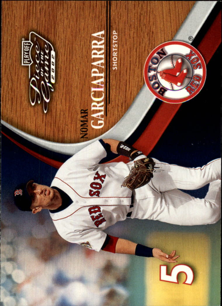 2002 Playoff Piece of the Game #9 Nomar Garciaparra