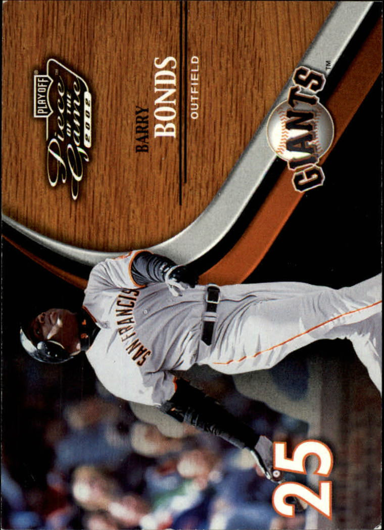 2002 Playoff Piece of the Game #11 Barry Bonds
