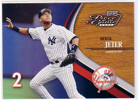 2002 Playoff Piece of the Game #12 Derek Jeter