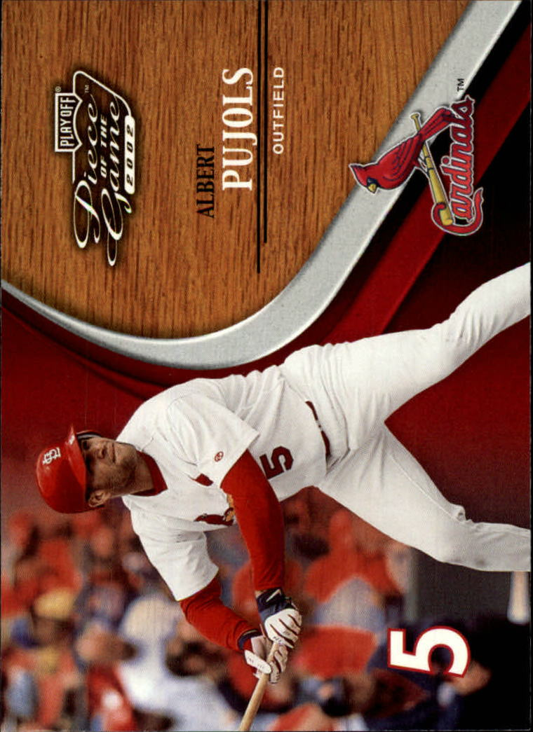 2002 Playoff Piece of the Game #13 Albert Pujols
