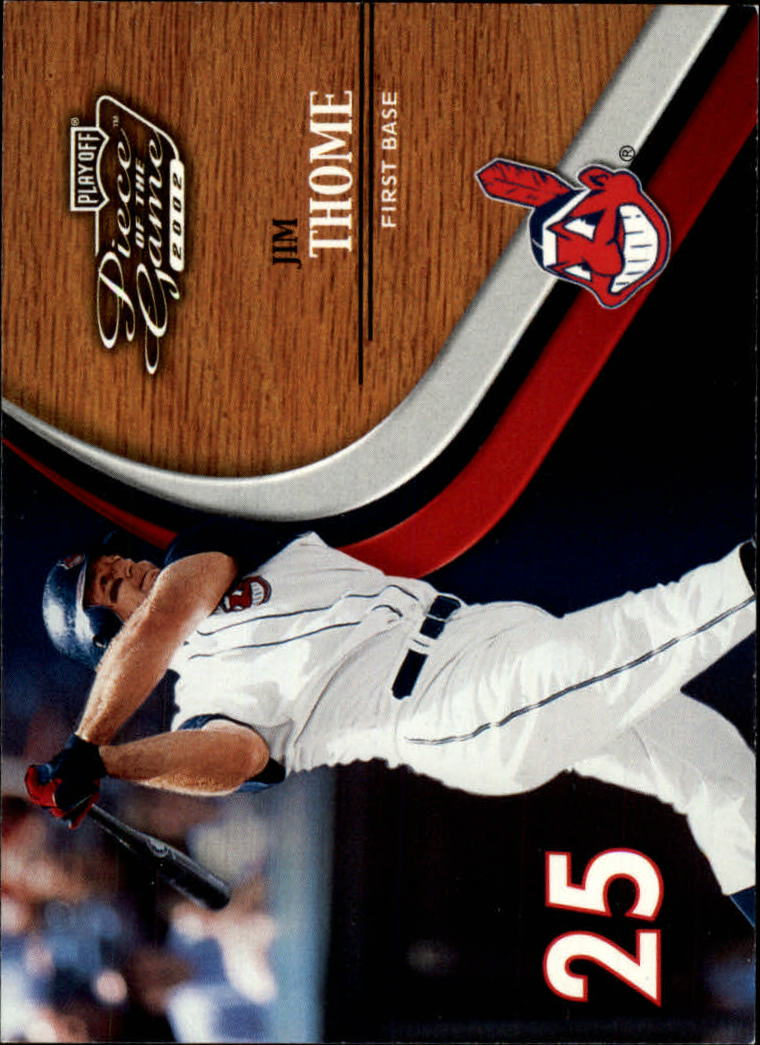 2002 Playoff Piece of the Game #15 Jim Thome