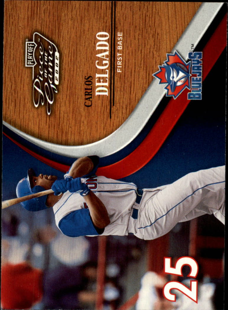 2002 Playoff Piece of the Game #17 Carlos Delgado