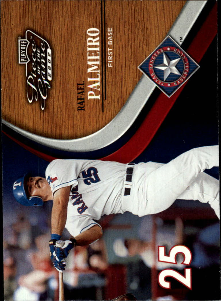 2002 Playoff Piece of the Game #22 Rafael Palmeiro