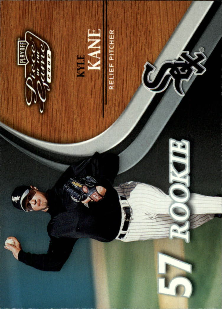 2002 Playoff Piece of the Game #60 Kyle Kane ROO RC
