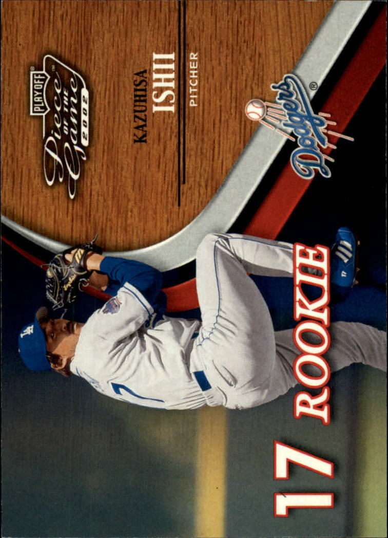 2002 Playoff Piece of the Game #66 Kazuhisa Ishii ROO RC
