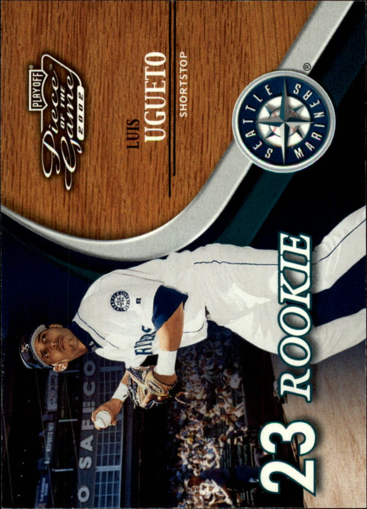 2002 Playoff Piece of the Game #69 Luis Ugueto ROO RC