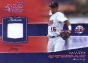 2002 Playoff Piece of the Game Materials #17A Cristian Guzman Jsy