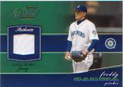 2002 Playoff Piece of the Game Materials #24A Freddy Garcia Jsy