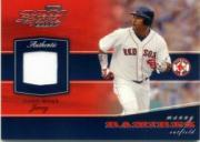 2002 Playoff Piece of the Game Materials #53A Manny Ramirez Jsy