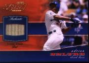 2002 Playoff Piece of the Game Materials Bronze #2 Adrian Beltre Bat