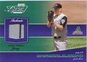 2002 Playoff Piece of the Game Materials Silver #18 Curt Schilling Jsy