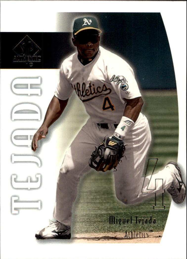 2002 SP Authentic #6 Miguel Tejada