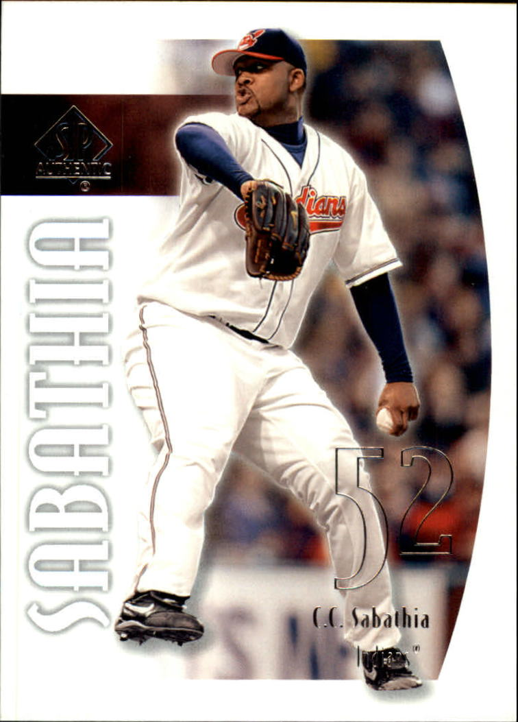 2002 SP Authentic #11 C.C. Sabathia
