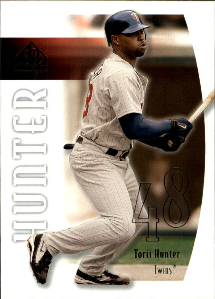 2002 SP Authentic #32 Torii Hunter