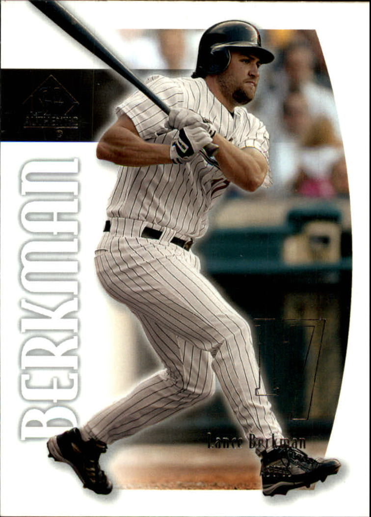 2002 SP Authentic #43 Lance Berkman