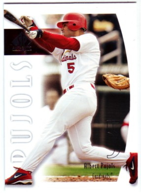 2002 SP Authentic #53 Albert Pujols