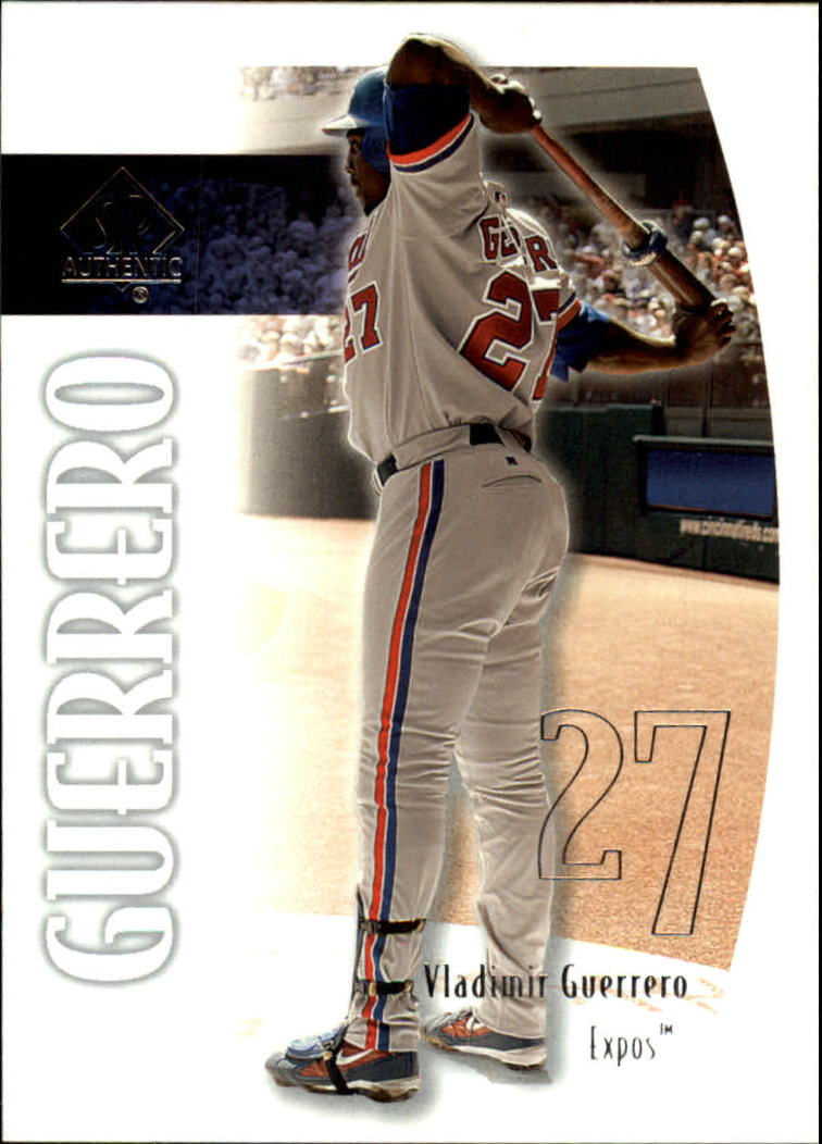 2002 SP Authentic #66 Vladimir Guerrero
