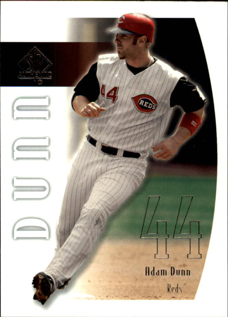 2002 SP Authentic #86 Adam Dunn