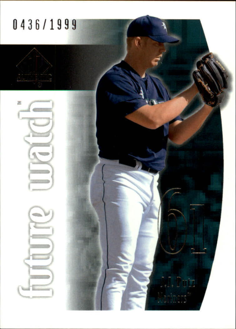 2002 SP Authentic #116 J.J. Putz FW RC