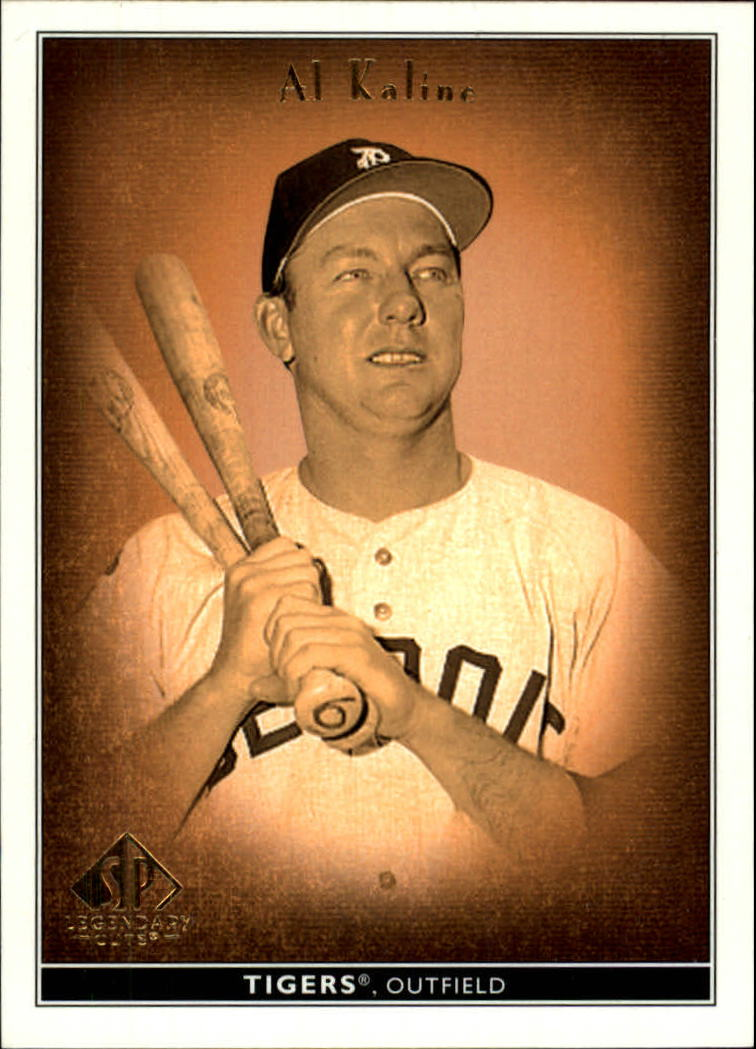 2002 SP Legendary Cuts #1 Al Kaline
