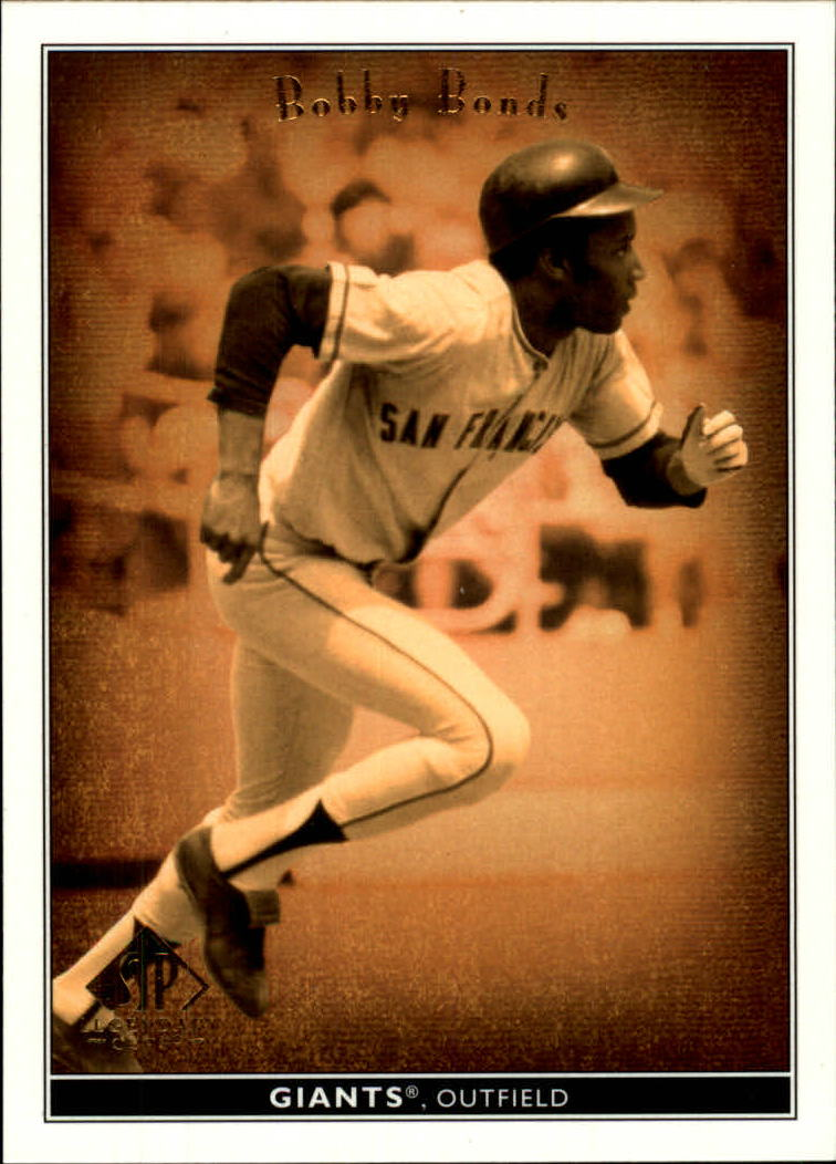 2002 SP Legendary Cuts #7 Bobby Bonds