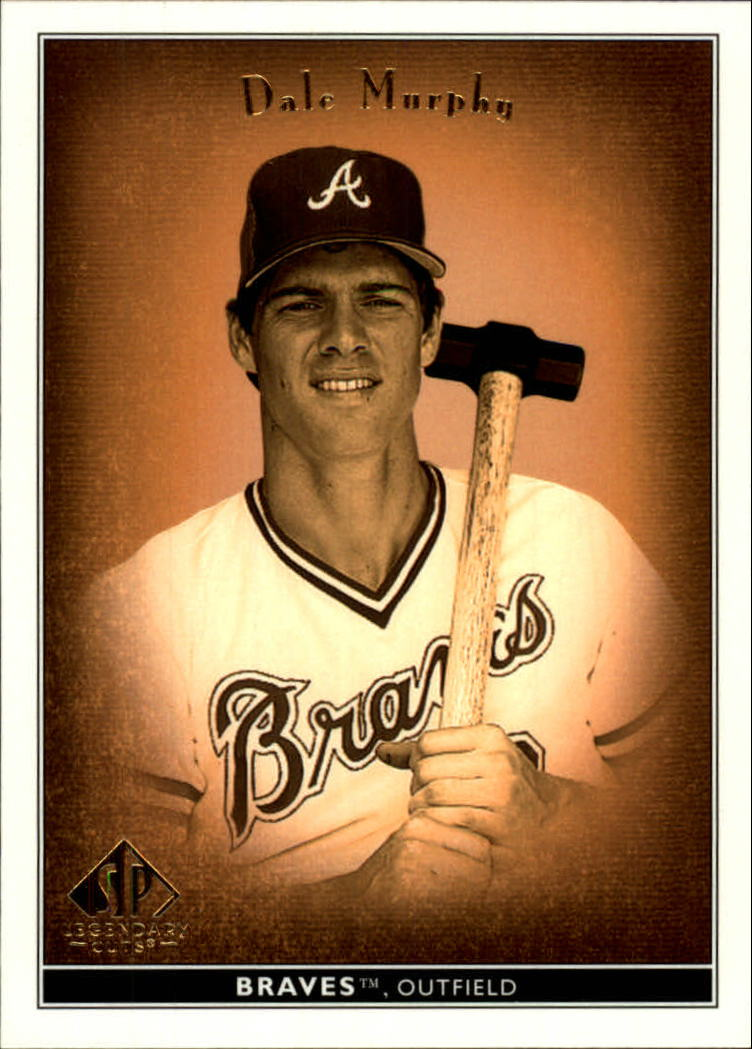 2002 SP Legendary Cuts #13 Dale Murphy
