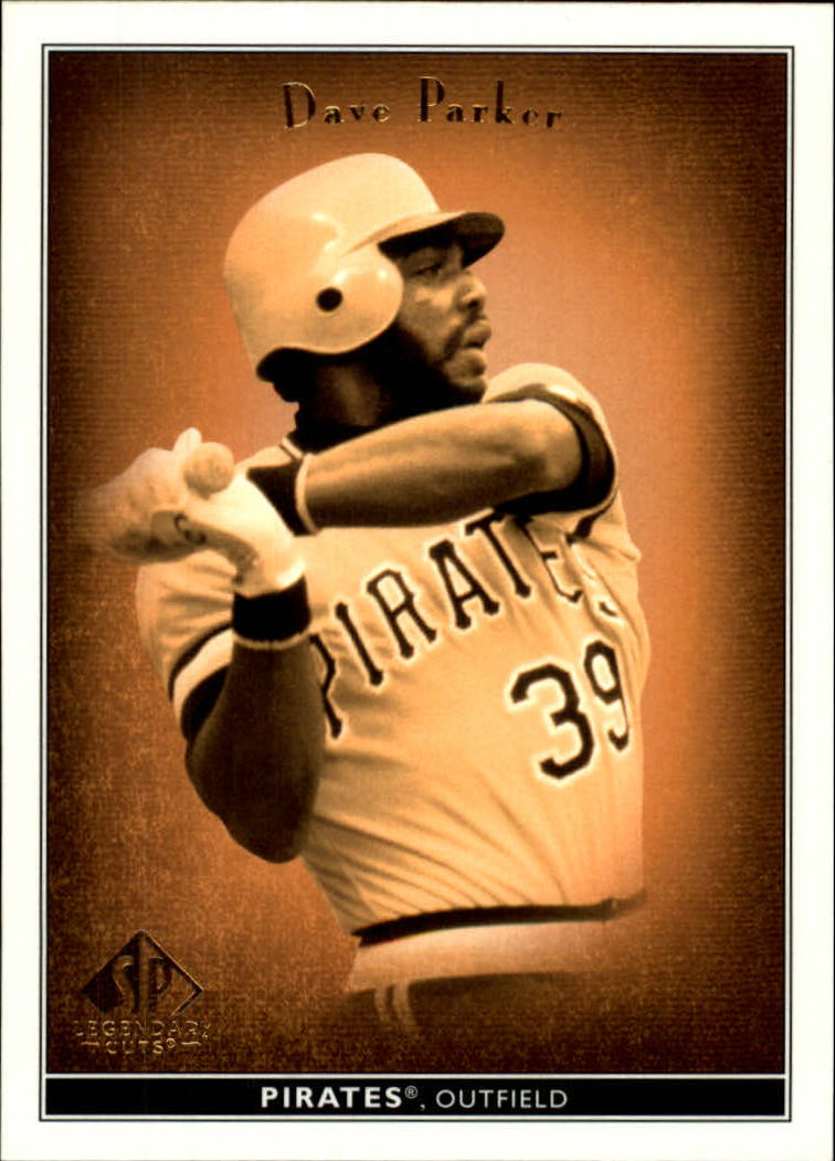 2002 SP Legendary Cuts #15 Dave Parker