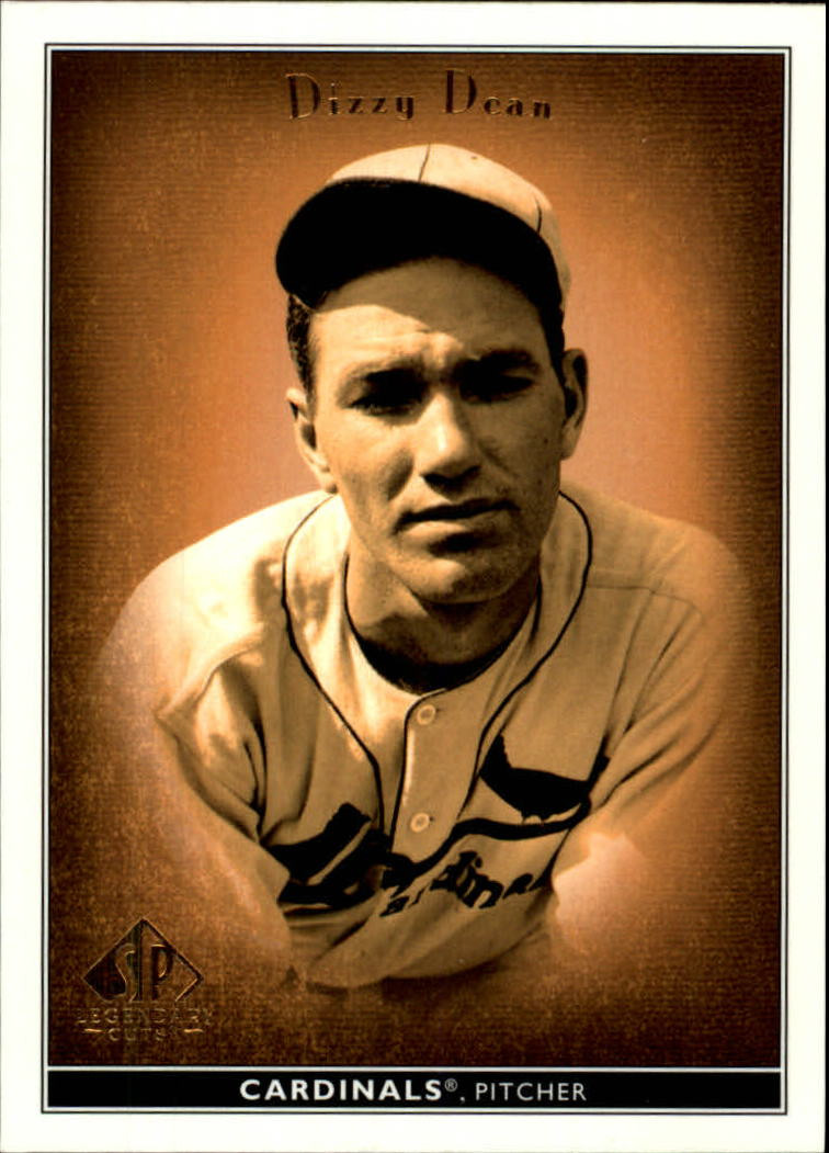 2002 SP Legendary Cuts #17 Dizzy Dean