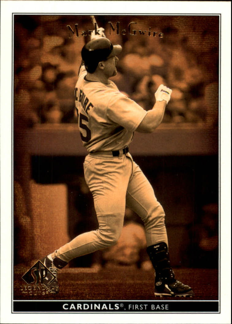2002 SP Legendary Cuts #50 Mark McGwire