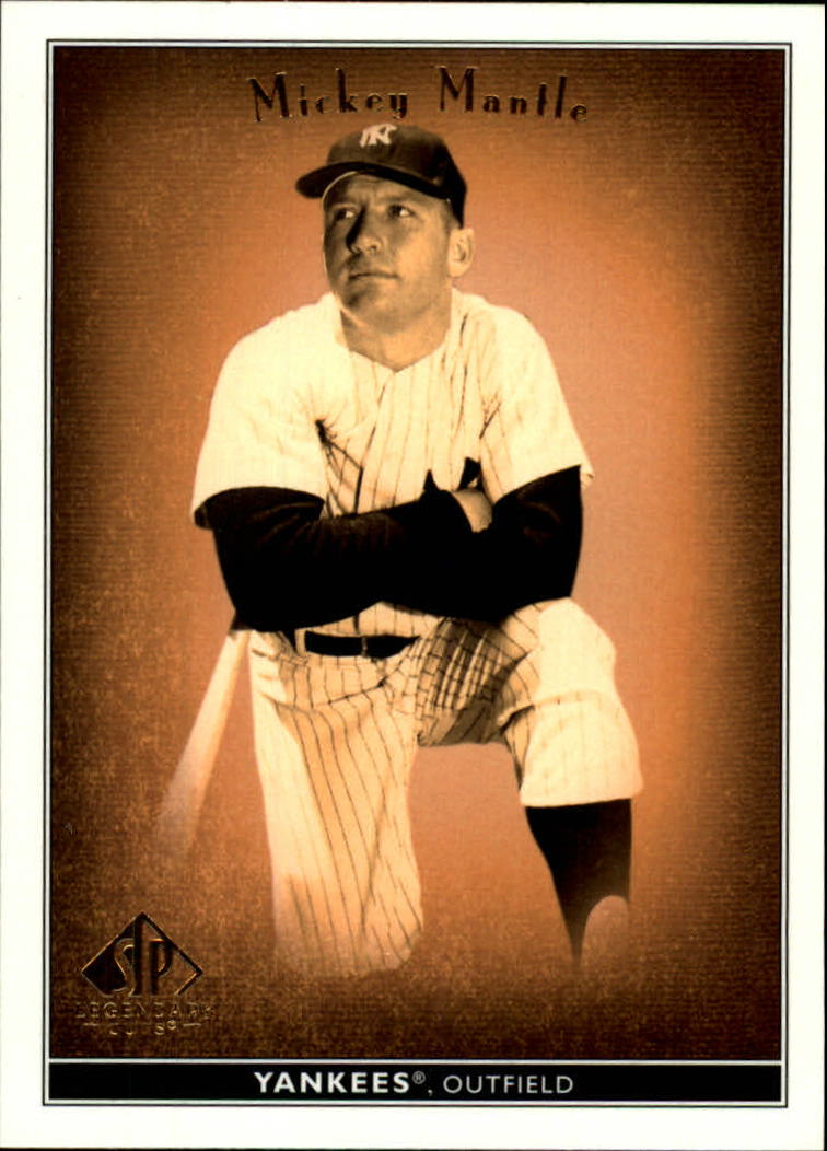 2002 SP Legendary Cuts #53 Mickey Mantle