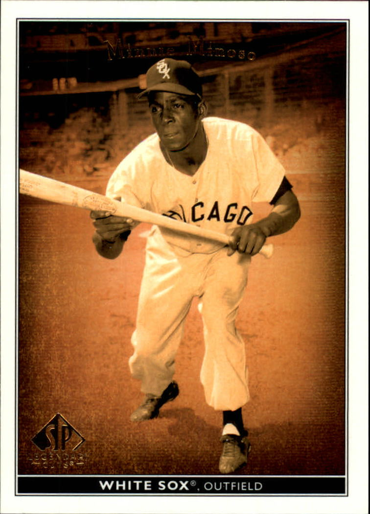 2002 SP Legendary Cuts #54 Minnie Minoso